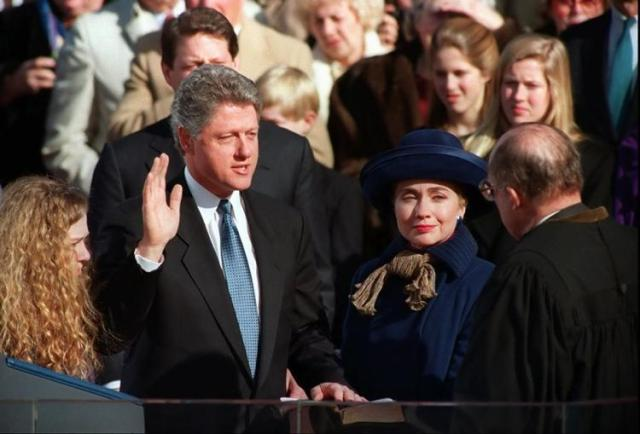 clinton-inauguration