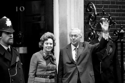 1974 General Election - Prime Minister Harold Wilson